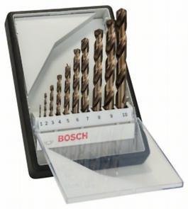 Sada vrtáků do kovu Bosch Robust Line HSS-Co (10 ks/sada)