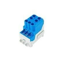 Rozváděčový blok UVB modrý