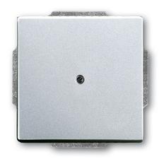 Kryt zaslepovací Future linear hliníková stříbrná