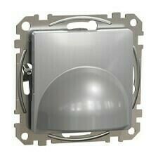 Kabelová vývodka Schneider Sedna Design aluminium