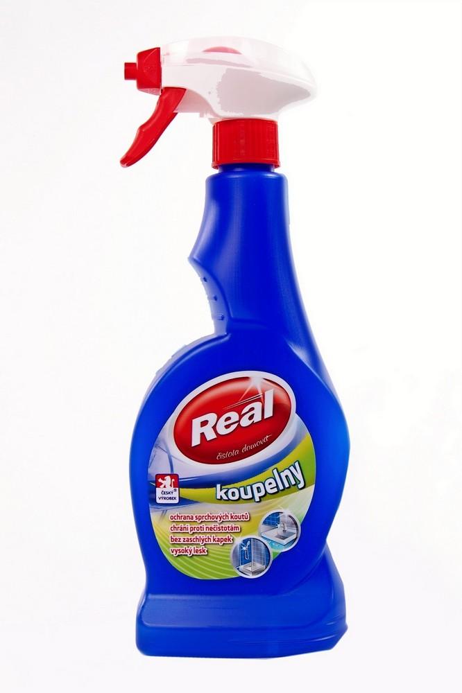 Čistící prostředek REAL koupelny 550 g, cena za ks