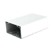 Kanál parapetní dutý PK 130×65D HD, bílá, 2 m