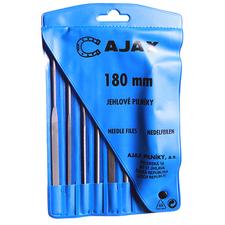 Sada jehlových pilníků AJAX 180 mm 6 ks