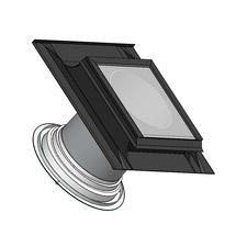 Světlovod pro šikmou střechu SUNIZER SHORT ROUND průměr 330 mm