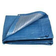 Plachta zakrývací ENPRO Standard 70 g/m2 modrá 5×8 m