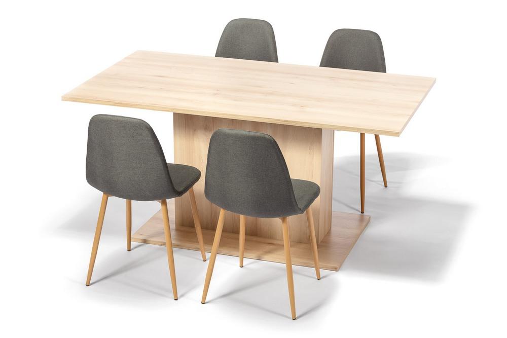 Jídelní set SYDNEY (4x židle, 1x stůl), cena za ks