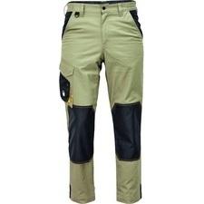 Kalhoty Cerva CREMORNE světle olivová/černá 52