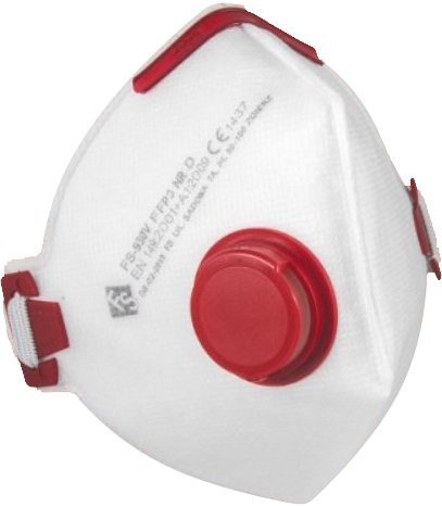 Respirátor s ventilem FS-930V FFP3 NR D
