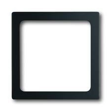 Kryt přístroje osvětlení Future linear mechová černá