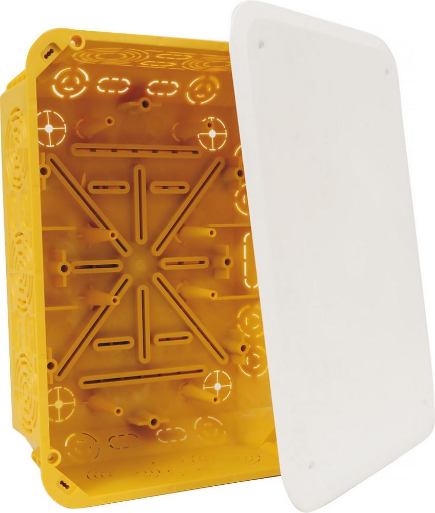Krabice pod omítku s víčkem, KT 250/L NB, cena za ks