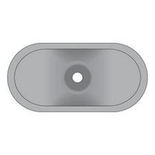 Podložka izolační oblá  PIO A 40/80 (500ks/bal)