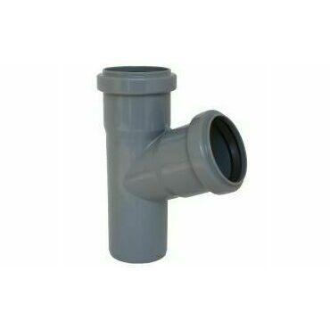 Odbočka HTEA pro připojení boční kanalizační větve DN 100/75, úhel 67,5°