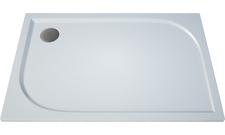 Obdélníková sprchová vanička TRACY 900×1200×30 mm, litý mramor