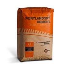 Portlandský cement ČESKOMORAVSKÝ CEMENT 42,5R  25 kg