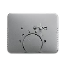 Kryt termostatu s posuvným přepínačem Alpha titanová