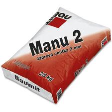 Omítka jádrová Baumit Manu 2 vápenocementová 2 mm 25 kg