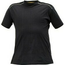 Tričko Cerva Knoxfield antracit/žlutá L