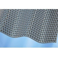 Polykarbonátová vlnitá deska MARLON CSE Diamond 76/18, čirá (2,6x1045x3000 mm)