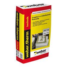 Hmota lepicí a stěrková Webertherm technik 25 kg