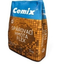 Hmota spárovací Cemix 079 FLEX šedá 5 kg