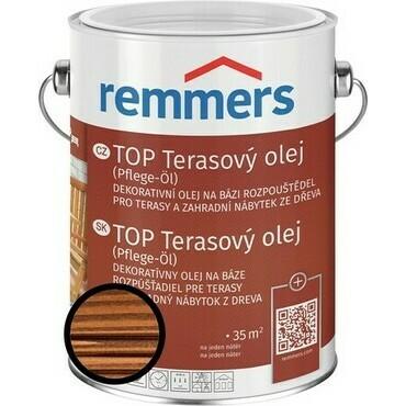 Olej terasový Remmers TOP ořech, 2,5 l