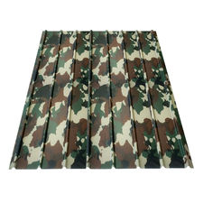 Plech trapézový BRAVO H 12 camouflage 0,4×910×2000 mm
