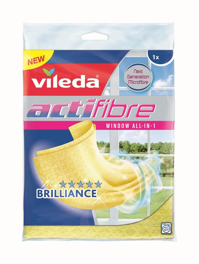 Mikrohadřík na okna VILEDA Actifibre 1 ks, cena za ks