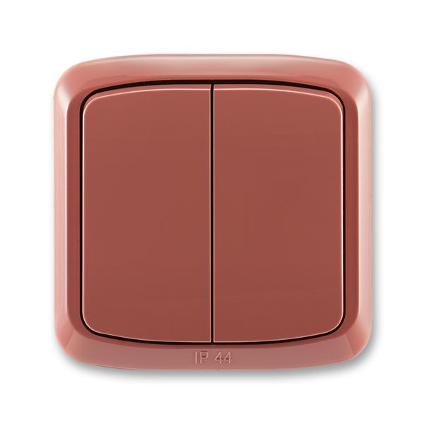 Přepínač sériový řazení 5 Tango vřesová červená
