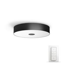 Svítidlo LED stropní 39W, Philips Hue Fair černá, bluetooth