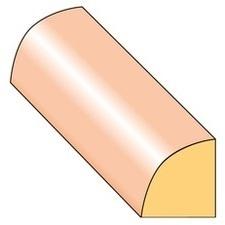 Lišta stropní S2 smrk nastavený 13×14×2000 mm, 25 ks/bal