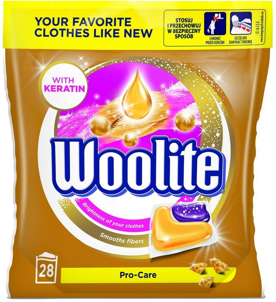 Gelové kapsle WOOLITE Pro-Care 28 ks