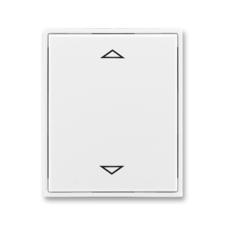 Kryt spínače žaluziového s krátkocestným ovladačem Time/Element bílá