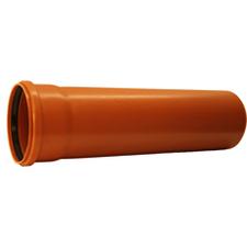 KGEM trubka s hrdlem pro kanalizaci DN 150, délka 1000 mm
