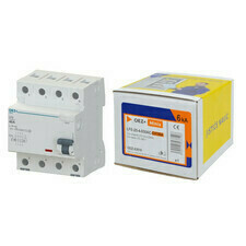 Chránič proudový sada OEZ LFE-25-4-030AC-EXTRA 6 kA 4pól 25 A