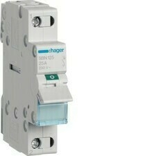 Vypínač Hager SBN125, 1pól, 25 A, 230 V