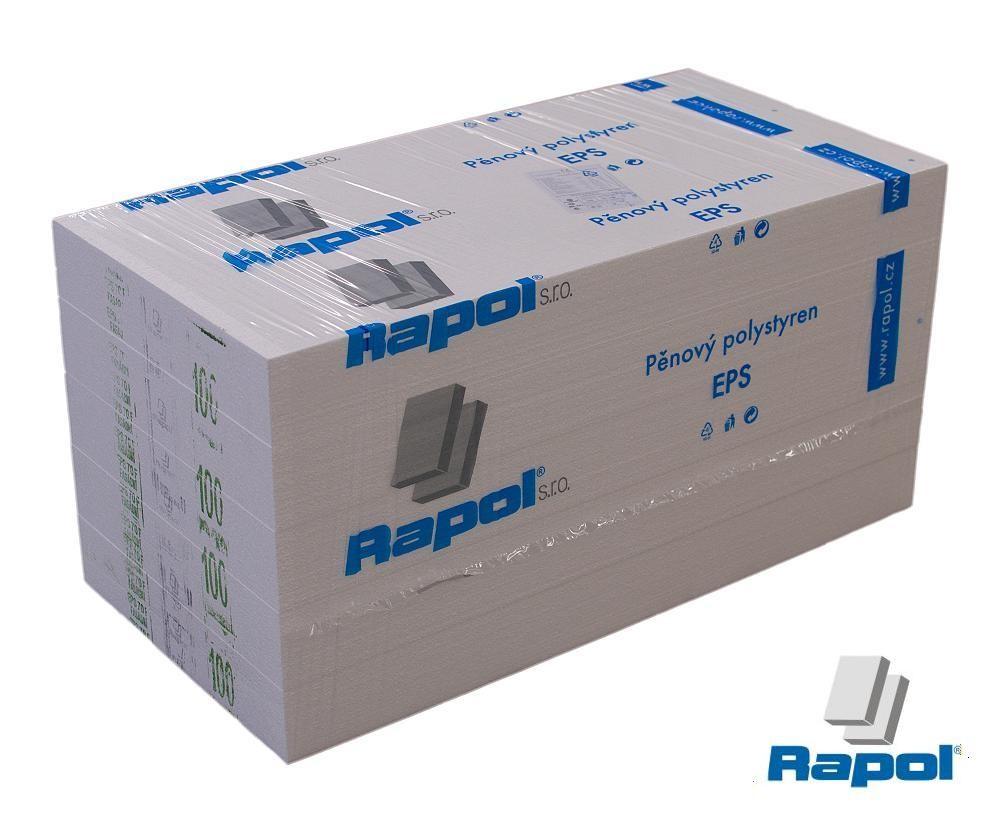 Fasádní polystyren EPS 100F 100 mm (1000×500 mm)
