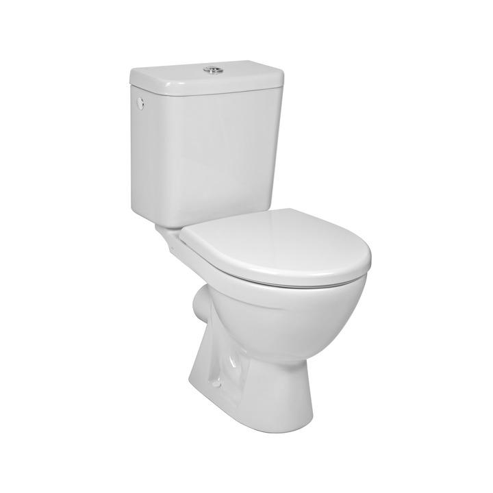 Kombi WC LYRA Plus (vodorovný)