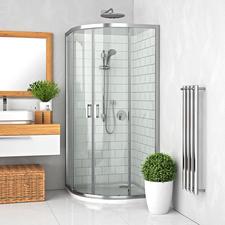 Kout sprchový čtvrtkruhový Roth LLR2 800 mm, LEGA LINE, Transparent