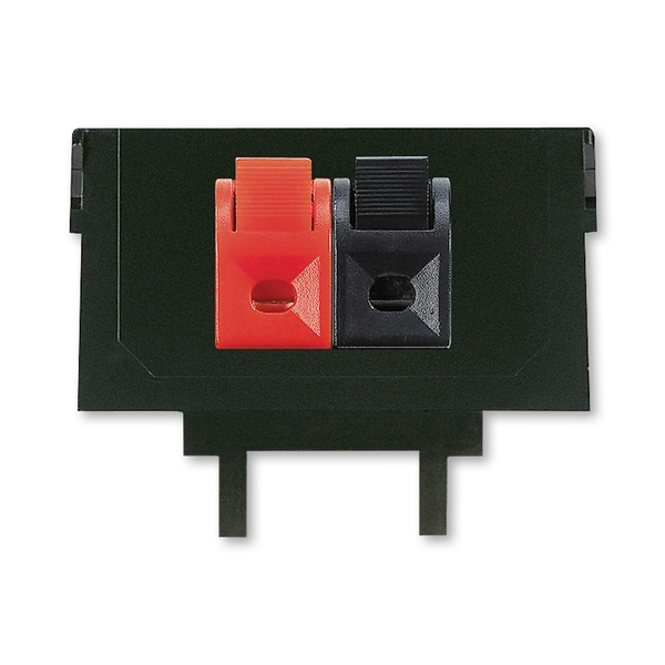 Maska nosná 2× reproduktorová se svorkami Tango černá