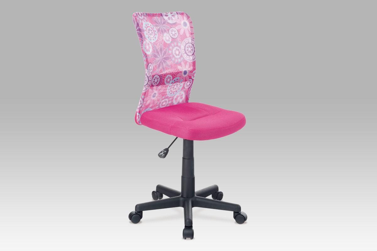 Dětská židle růžová, cena za ks