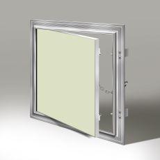 Revizní hliníková klapka s těsněním do sádrokartonu (200x200) mm