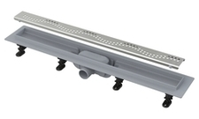 Žlab podlahový Alcaplast APZ8-750M Simple včetně roštu