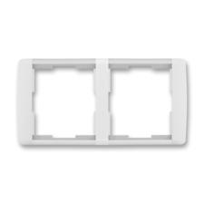 Rámeček dvojnásobný vodorovný Element bílá / ledová bílá