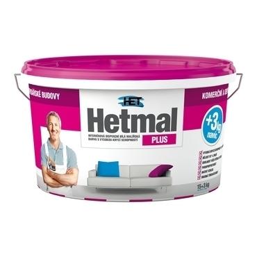 Malba interiérová HET Hetmal Plus bílá, 15+3 kg