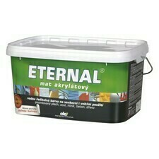 Barva  ETERNAL mat akrylát sv. šedá (02) 5 kg