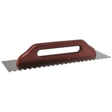 Hladítko nerezové zubové DEK HN60 130×480 mm zuby 10 mm