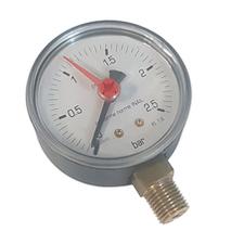 """Manometr, 0-10bar, průměr 63 mm, G1/4"""", spodní"""