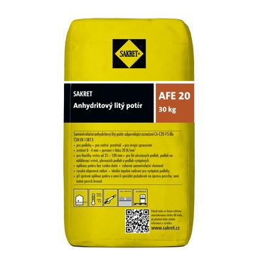 Anhydritový litý potěr Sakret AFE 20, 30 kg/bal