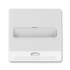 Kryt telefonní zásuvky jednonásobné Classic jasně bílá