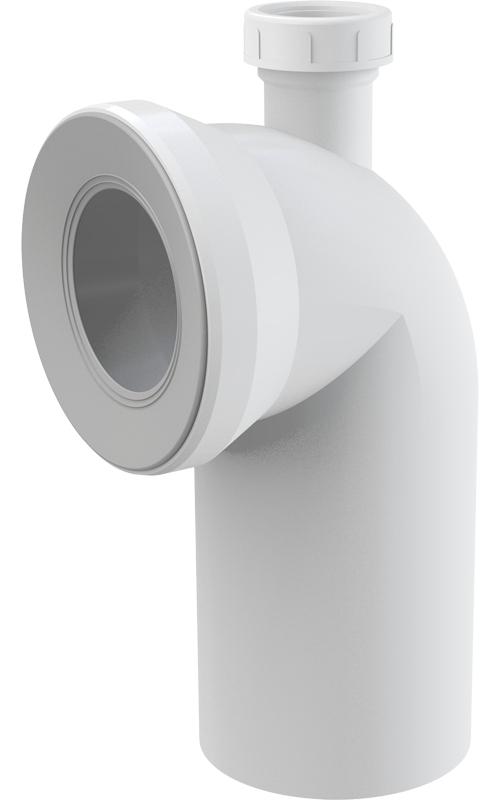 Dopojení k WC s připojením DN40 koleno 90° A90-90P40